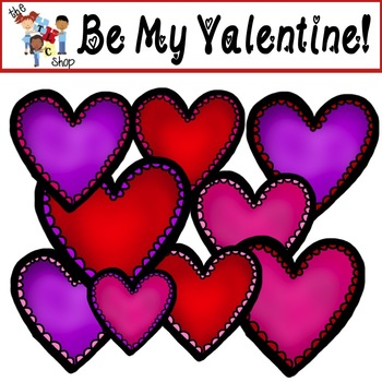 FREE! TLC Clip Art - Be My Valentine!