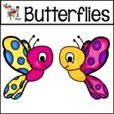 FREE! TLC Clip Art - Butterflies!