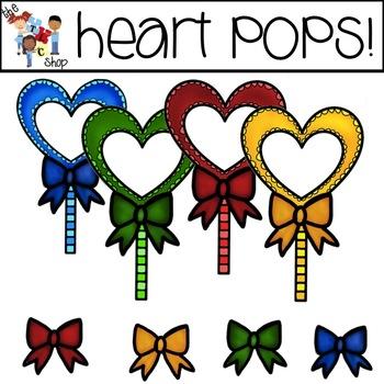 FREE! TLC Clip Art - Heart Pops!