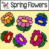 FREE! TLC Clip Art - Spring Flowers!