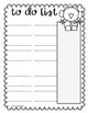 FREE TO DO LISTS WINTER THEME