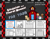 Dollar Deal! Singular and Plural Nouns Fab Tabs! CCSS