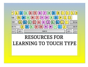 FREE TOUCH TYPING RESOURCES: Grades 2-8