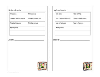 FREE TPT Store Stats Tracker