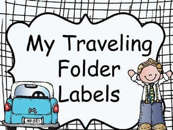 FREE-TRAVELING FOLDER LABELS