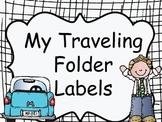 FREE-TRAVELING FOLDER LABELS