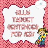 FREE: Target Sentences for /er/