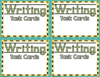 *FREE* Task Card Covers