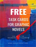 FREE Task Cards for Graphic Novels (Distance Learning)