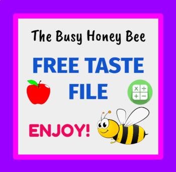 FREE Taste Kindergarten Addition Smart Notebook and Unit of Work Bundle