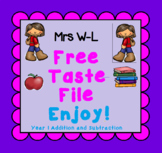 FREE Taste Year 1 Addition and Subtraction Smart Notebook