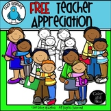FREE Teacher Appreciation Clip Art Set - Chirp Graphics