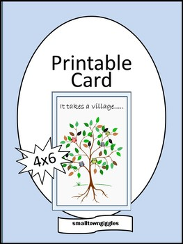 image relating to Teacher Appreciation Cards Free Printable referred to as Free of charge Instructor Appreciation Greeting Card, Academics