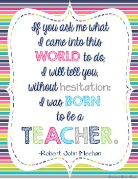 FREE Teacher Appreciation Poster Print