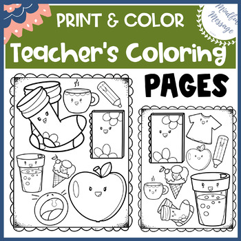Coloring Pages For Kids Holidays Teacher Appreciation World S Best ... | 350x350