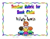 FREE Teacher Rubric for Book Clubs Made Easy