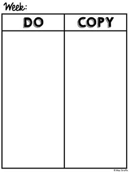 FREE Teacher To Do List Template