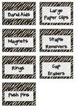 FREE Teacher's Toolkit Animal Print Labels
