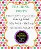 FREE Teaching Fonts
