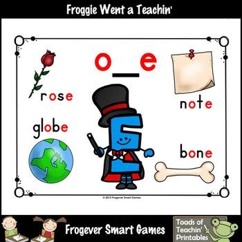"""Magic E Posters--Look, Listen, Learn """"Magic E"""" o_e Words Posters"""