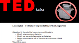 FREE Ted talk - The punishable perils of plagiarism, lesso