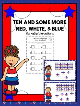 Teen Numbers Ten And Some More Red, White & Blue