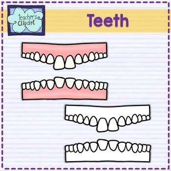FREE Teeth - dental health clip art