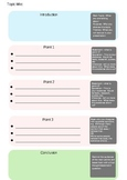 FREE template for student essays and speeches w/ phrasebank