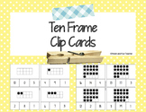 Ten Frame Clip Cards 0-20