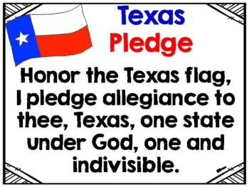 FREE - Texas Pledge