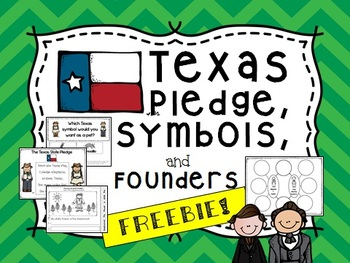 FREE Texas Symbols, Pledge, and founders