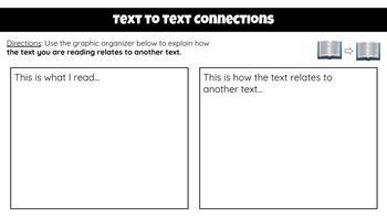 Text Connections Interactive Google Slide