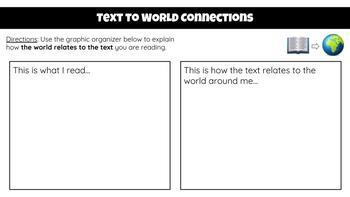FREE!! Text Connections Interactive Google Slide