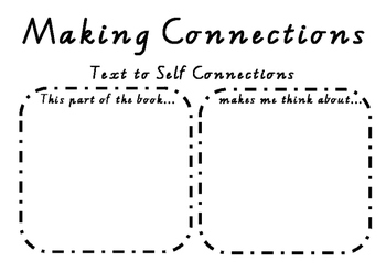 FREE Text to Self Connections Template