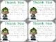 FREE Thank You Cards {Merry Christmas}