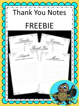 FREE Thank you notes!!