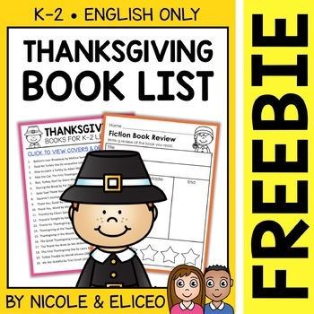 FREE Thanksgiving Activities and Book List