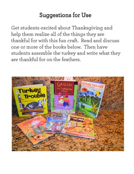 Thanksgiving Writing Activity: Thankful Turkey {FREE}