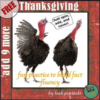 FREE Thanksgiving Addition Game Activity