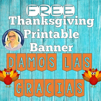 FREE Thanksgiving Banner for your classroom