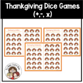 FREE Thanksgiving Dice Games