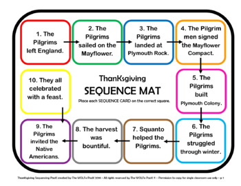 HISTORY OF THANKSGIVING SEQUENCE PACK