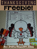 Thanksgiving Subtraction Color by Numbers Freebie