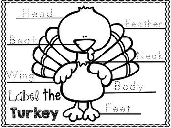 FREE Thanksgiving Fun Packet