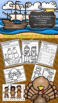 FREE Thanksgiving Fun Packet