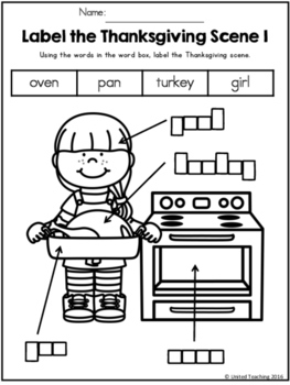 FREE Thanksgiving How to Cook a Turkey Writing Activity
