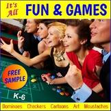 "FREE - Thanksgiving Math Activities ""Bingo"" (K-6)"