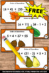 FREE Thanksgiving Math Activities Games ORDER OF OPERATION