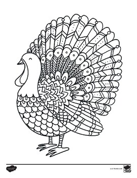 FREE Thanksgiving Mindfulness Coloring Sheets by Twinkl ...