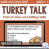 FREE Thanksgiving Point of View and Editing Activity - Onl